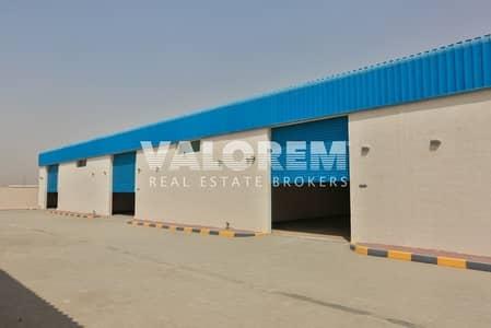 مستودع  للايجار في السجع، الشارقة - Brand New Large Size warehouse for rent in Al-Sajah Sharjah