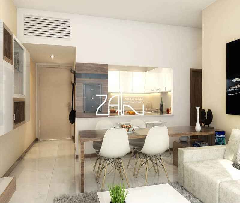 2 1% Monthly Payment 1BR Apt with Balcony & Parking