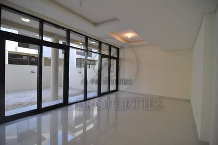 تاون هاوس 3 غرفة نوم للايجار في داماك هيلز (أكويا من داماك)، دبي - Park Facing 3BR Townhouse in DAMAC Hills