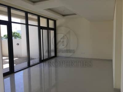 تاون هاوس 3 غرفة نوم للايجار في داماك هيلز (أكويا من داماك)، دبي - 3BR + Maid Single Row Unit Facing the Park