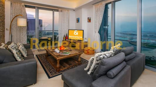3 Bedroom Apartment for Sale in Dubai Marina, Dubai - High floor with Sea & Palm Views | Motivated Seller