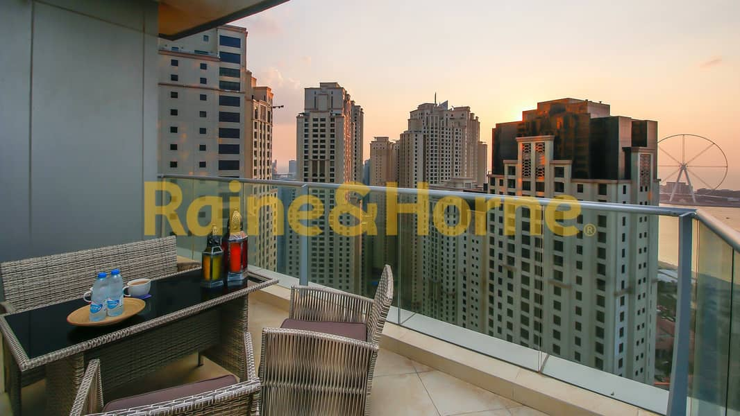 18 High floor with Sea & Palm Views | Motivated Seller