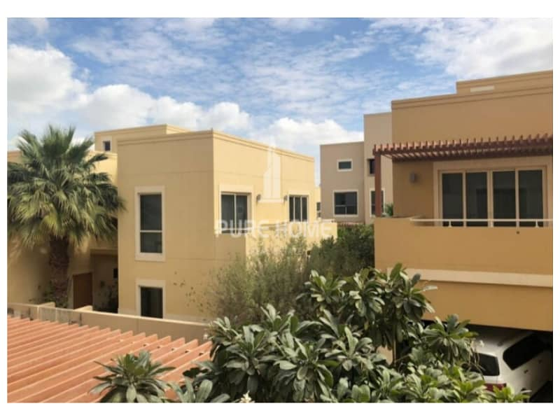 Very Spacious Villa For Sale in Al Raha Gardens with Private Pool