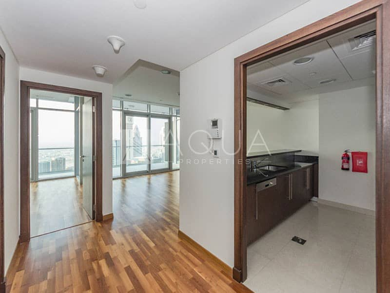 2 High Floor | Vacant One Bed | DIFC View