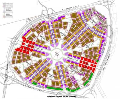 ارض سكنية  للبيع في قرية جميرا الدائرية، دبي - ارض سكنية في قرية جميرا الدائرية 10000000 درهم - 4397750