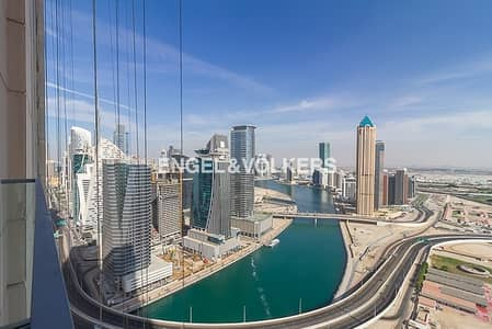 2 Bedroom Apartment for Rent in Business Bay, Dubai - Lower Floor|Canal & Stable View|Best  Layout