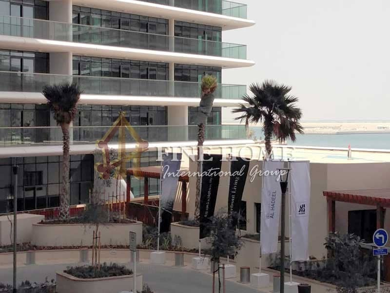 Full Sea View 1BR Apartment in Al Hadeel Tower