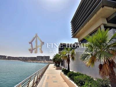 فیلا 5 غرفة نوم للبيع في شاطئ الراحة، أبوظبي - Full sea View 5 BR. Villa with Privet Pool