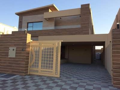 فیلا 5 غرفة نوم للبيع في المويهات، عجمان - فيلا جديده vip خطوات من شارع الشيخ عمار موقع مميز جدا