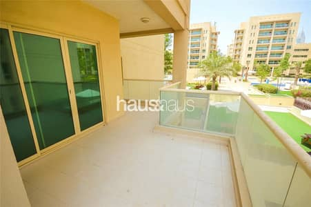 2 Bedroom Apartment for Rent in The Greens, Dubai - Rare Unit | Large Balcony | Low Floor