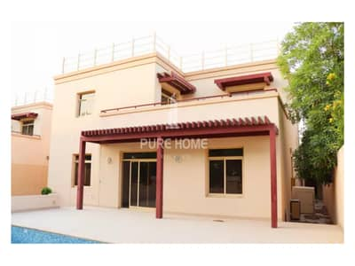 5 Bedroom Villa for Sale in Al Raha Golf Gardens, Abu Dhabi - Superb and Beautiful 5 Bedrooms Villa with Maid Room Call us Now