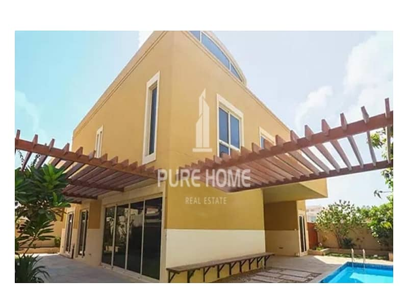 Perfectly Priced for this 3 Bedrooms Villa in Samra Community