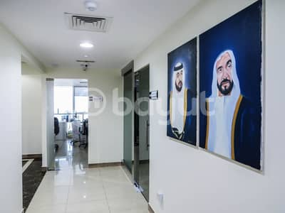 Office for Rent in Mohammed Bin Zayed City, Abu Dhabi - Great Location Nice Fit-Out office for Lease