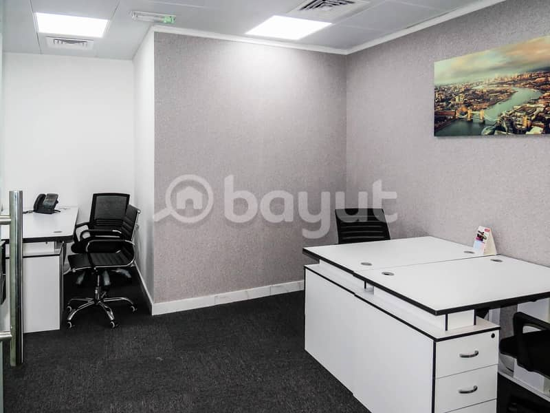 10 NO COMMISSION! DED approved office space for rent direct from landlord.