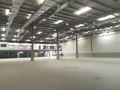 Warehouse for Rent in Al Quoz, Dubai - Deluxe Warehouse with Office Block | Al Quoz Industrial
