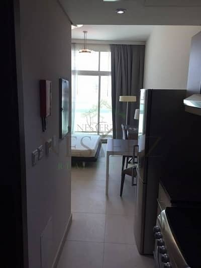 Studio for Rent in Al Sufouh, Dubai - Fully Furnished studio for rent in Hilliana Tower - Mid Floor