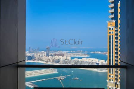 3 Bedroom Flat for Sale in Dubai Marina, Dubai - Amazing Sea Views 3BR+L High Floor Vacant