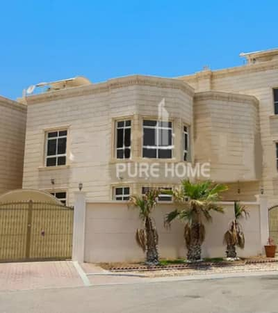 6 Bedroom Villa for Rent in Al Nahyan, Abu Dhabi - Ready To Move In 6 Bedrooms Villa With Maid Room And Driver Room In Al Nahyan