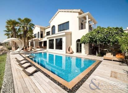 6 Bedroom Villa for Sale in Palm Jumeirah, Dubai - Award Winning Villa | Upgraded | 6 Bedroom