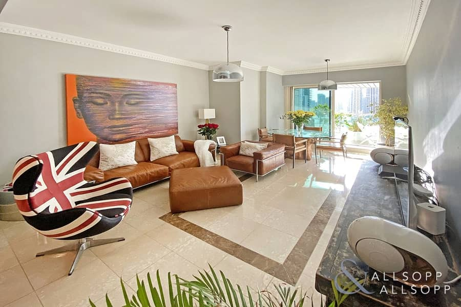 2 Vacant | Full Marina View | Large Terrace