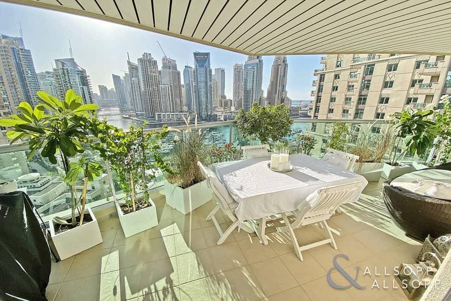 10 Vacant | Full Marina View | Large Terrace