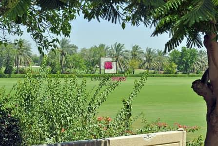 3 Bedroom Villa for Rent in Al Awir, Dubai - Vacant villa overlooking the paddocks.
