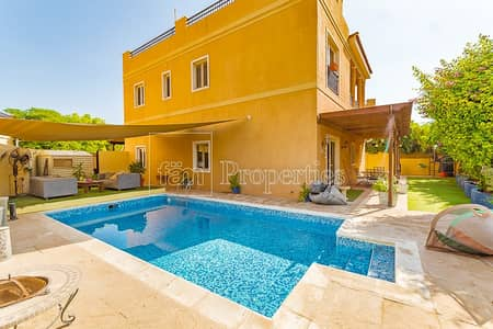 5 Bedroom Villa for Sale in The Villa, Dubai - Exclusive! Beautiful 5 BR w/ Pool A2| Park backing