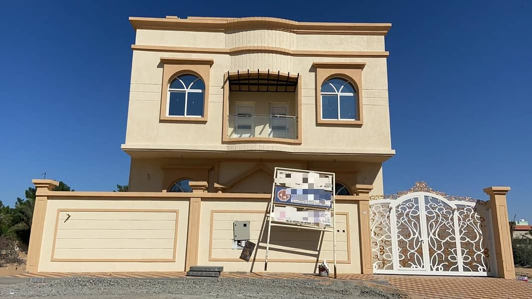 Villa For Sale in Ajman with excellent finishing