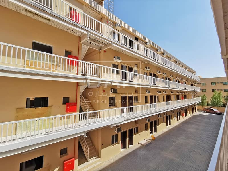 Price Negotiable ! 88 Rooms Labour Camp   352 Person Capacity   Near Al Khail Mall
