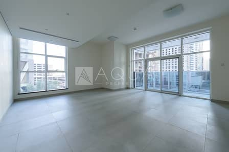 2 Bedroom Apartment for Rent in Dubai Marina, Dubai - Unfurnished | Low Level |  Great Facilities