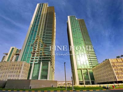 2 Bedroom Apartment for Sale in Al Reem Island, Abu Dhabi - Sea View 2BR Apartment