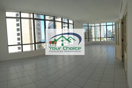 4 Bedroom Flat for Rent in Tourist Club Area (TCA), Abu Dhabi - Bright & Spacious 4 Bedroom  with Maid's & Store Room & Parking for 100