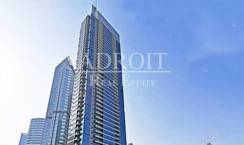 Office for Rent in Business Bay, Dubai - Burj Khalifa View  Fitted Office Space in West Burry Tower
