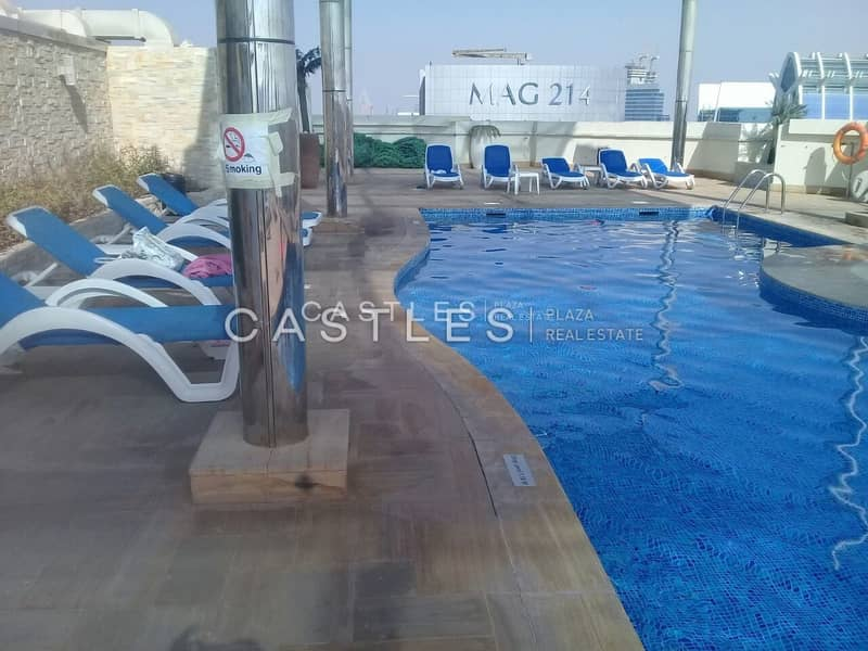 Studio with Balcony - Dubai Gate 1 for Sale- RENTED