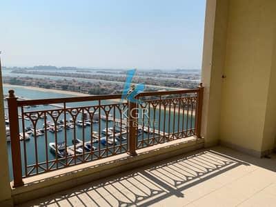 شقة 2 غرفة نوم للايجار في نخلة جميرا، دبي - Splendid Sea View I 2 beds I Exclusive.