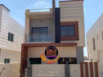 4 Bedroom Villa for Sale in Al Helio, Ajman - Luxury villa with modern design and attractive price - freehold