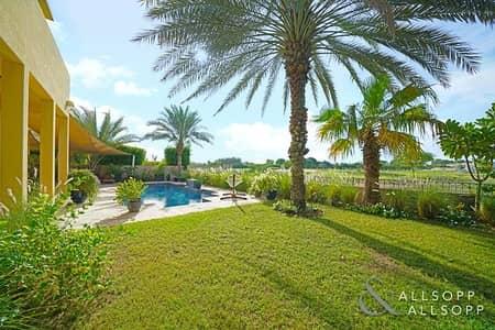 فیلا 5 غرفة نوم للبيع في المرابع العربية، دبي - Upgraded 5 Bed   Golf Course   Private Pool