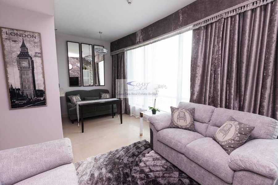 2 Renovated furnished 1BR in Sanibel tower for rent
