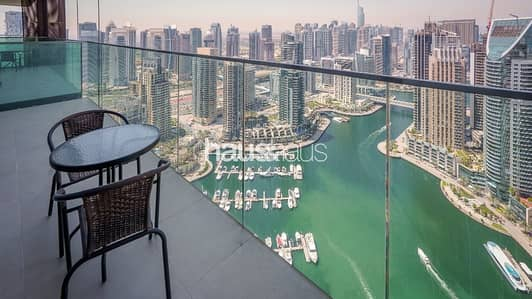 1 Bedroom Flat for Rent in Dubai Marina, Dubai - Brand New | Stunning View | Top Facilities