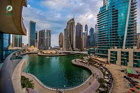 شقة 1 غرفة نوم للايجار في دبي مارينا، دبي - Vacant and Ready to Move In 1 BR with Marina View