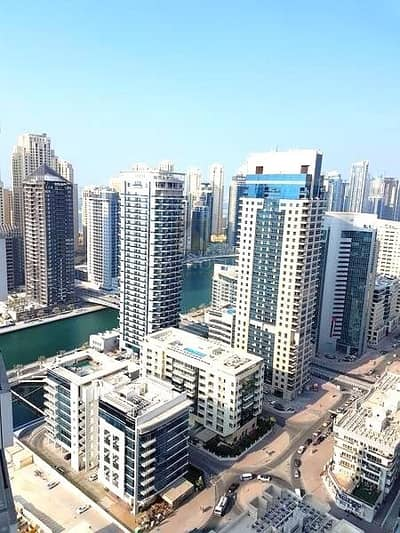 1 Bedroom Flat for Sale in Dubai Marina, Dubai - Affordable Furnished 1BR with Balcony I High Floor