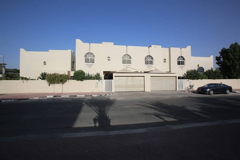 4 BHK + MAIDS ROOM - 2 MASTRE ROOMS WITH 1 MONTH FREE VILLA FOR RENT IN AL GARHOUD