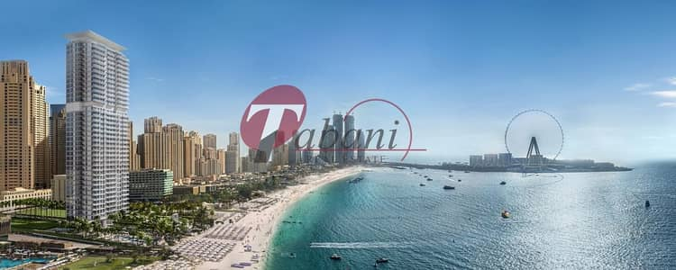 1 Bedroom Flat for Sale in Jumeirah Beach Residence (JBR), Dubai - Corner Unit | Higher Floor | Panoramic Views