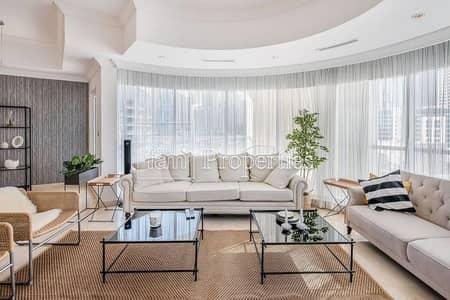 فلیٹ 3 غرف نوم للبيع في دبي مارينا، دبي - 5min to Beach | Furnished | Upgraded | Marina View
