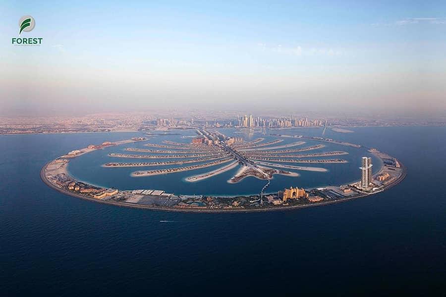 10 VIP|Large|Unique Plots|Palm Jumeirah|Private Beach
