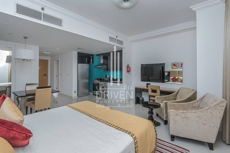 Price Dropped!!  Rented Studio for Sale