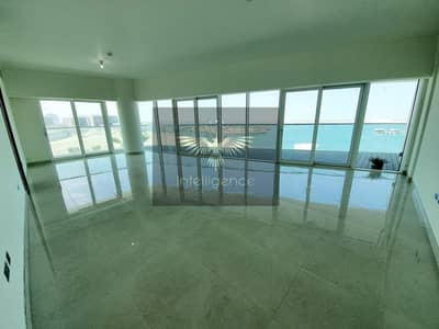 3 Bedroom Apartment for Rent in Al Raha Beach, Abu Dhabi - Full Sea View! High-end and very spacious flat!
