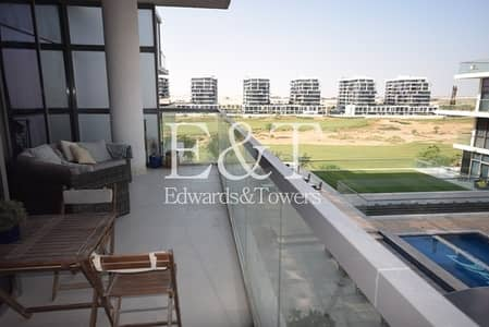 2 Bedroom Apartment for Sale in DAMAC Hills (Akoya by DAMAC), Dubai - Golf  View | Maids plus storage room | DL