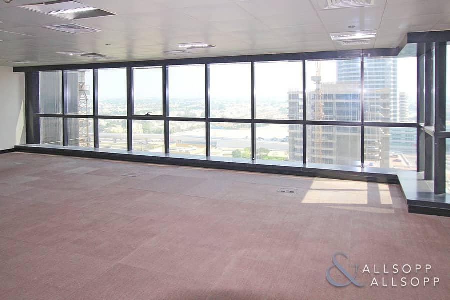 Fitted Lake View Office | Pantry | Vacant