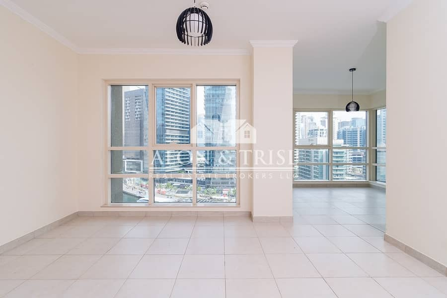 2 Vacant! Upgraded 2 Beds in Marina Quays! Best view